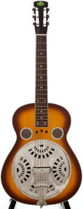 Musical Instruments:Resonator Guitars, Regal Sunburst Resonator Guitar, Serial Number #9806152....