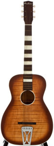 Musical Instruments:Acoustic Guitars, 1950's Airline Sunburst Acoustic Guitar...