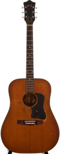 Musical Instruments:Acoustic Guitars, 1960's Guild D35 Natural Acoustic Guitar, Serial Number #OJ280....