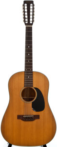 Musical Instruments:Acoustic Guitars, 1970 Martin D-12-20 Natural 12 String Acoustic Guitar, SerialNumber #261034....