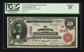 National Bank Notes:Nebraska, Omaha, NE - $50 1902 Red Seal Fr. 665 The Omaha NB Ch. # (W)1633....