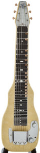 Musical Instruments:Lap Steel Guitars, 1950's Fender Champion MOTS Lap Steel Guitar, Serial Number #8918....
