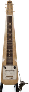 Musical Instruments:Lap Steel Guitars, 1949 Oahu Lap Steel MOTS Lap Steel Guitar, Serial Number#V19527....