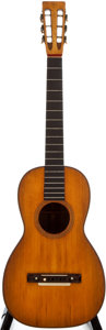 Musical Instruments:Acoustic Guitars, 1800's Martin Style 17 Natural Acoustic Guitar...