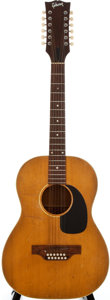 Musical Instruments:Acoustic Guitars, 1969 Gibson B-15 Natural 12 String Acoustic Guitar, Serial Number #909758....