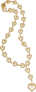 Estate Jewelry:Necklaces, Diamond, Gold Necklace, Loree Rodkin. ...