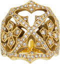 Estate Jewelry:Rings, Diamond, Gold Ring, Loree Rodkin. ...