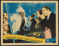 "Movie Posters:Crime, Manhattan Melodrama (MGM, 1934). Lobby Card (11"" X 14""). Crime....."