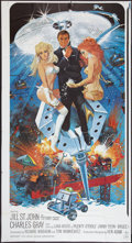 """Movie Posters:James Bond, Diamonds Are Forever (United Artists, 1971). Partial Six Sheet (41"""" X 76""""). James Bond.. ..."""