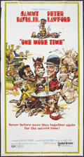 """Movie Posters:Comedy, One More Time (United Artists, 1970). Three Sheet (41"""" X 81""""). Comedy.. ..."""