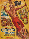 "Movie Posters:Swashbuckler, The Son of Captain Blood (Paramount, 1963). French Grande (44.5"" X 60.25""). Swashbuckler.. ..."