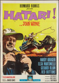 "Movie Posters:Adventure, Hatari! (Paramount, 1962). Italian 4 - Foglio (55"" X 78.5"").Adventure.. ..."