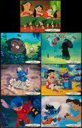 "Movie Posters:Animated, Lilo & Stitch (Buena Vista, 2002). Lobby Card Set of 14 (11"" X 14""). Animated.. ... (Total: 14 Items)"