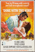 "Movie Posters:Academy Award Winners, Gone with the Wind (MGM, R-1968). Poster (40"" X 60"") & UncutPressbook (16 Pages, 12"" X 17""). Academy Award Winners.. ...(Total: 2 Items)"