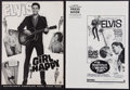 "Movie Posters:Elvis Presley, Elvis Presley Pressbook Lot (Various, 1967). Uncut Pressbooks (2)(Multiple Pages, 12"" X 17""). Elvis Presley.. ... (Total: 2 Items)"