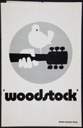 "Movie Posters:Rock and Roll, Woodstock (Warner Brothers, 1970). Pressbook (Multiple Pages, 11"" X17""), Herald (4 Pages, 12"" X 15""), & Page (10.75"" X 17"")...(Total: 3 Items)"