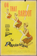 """Movie Posters:Comedy, La Parisienne (United Artists, 1958). Poster (40"""" X 60""""). Style Y. Comedy.. ..."""
