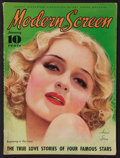 """Movie Posters:Miscellaneous, Modern Screen (Dell Publishing, January, 1935). Magazine (108Pages, 8.5"""" X 11.5""""). Miscellaneous.. ..."""