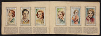 """Player's Cigarette Card Album of Film Stars (John Player and Sons, Early 1930s). British Album (5"""" X 7.5"""")..."""
