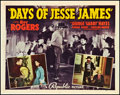 """Movie Posters:Western, Days of Jesse James (Republic, 1939). Half Sheet (22"""" X 28"""") Style A. Western.. ..."""