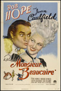 "Movie Posters:Comedy, Monsieur Beaucaire (Paramount, 1946). One Sheet (27"" X 41""). Comedy.. ..."