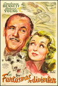 """Movie Posters:Comedy, Topper Takes a Trip (United Artists, 1943). Argentinean Poster (29.5"""" X 43.5""""). Comedy.. ..."""