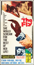"Movie Posters:Science Fiction, The Fly (20th Century Fox, 1958). Three Sheet (41"" X 81""). Science Fiction.. ..."