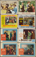 "Movie Posters:Adventure, The Buccaneer and Others Lot (Paramount, 1958). Lobby Cards (8)(11"" X 14""). Adventure.. ... (Total: 8 Items)"
