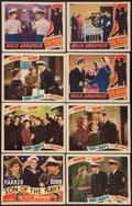 "Movie Posters:Comedy, Son of the Navy & Other Lot (Monogram, 1940). Title Lobby Card & Lobby Cards (7) (11"" X 14""). Comedy.. ... (Total: 8 Items)"