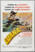 "Movie Posters:Adventure, Luana (Capital Productions, 1973). One Sheet (27"" X 41"") Style B.Adventure.. ..."