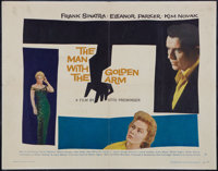 """The Man with the Golden Arm (United Artists, 1955). Half Sheet (22"""" X 28"""") Style B and Photo (8"""" X 10&quo..."""