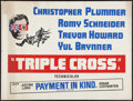 """Movie Posters:War, Triple Cross and Other Lot (Warner Brothers, 1967). British Quads(2) (30"""" X 40""""). War.. ... (Total: 2 Items)"""