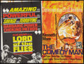 """Movie Posters:Adventure, Lord of the Flies / The Comedy Man Combo (British Lion, 1964).British Quad (30"""" X 40""""). Adventure.. ..."""