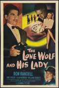 "Movie Posters:Mystery, The Lone Wolf and His Lady (Columbia, 1949). One Sheet (27"" X 41"").Mystery.. ..."
