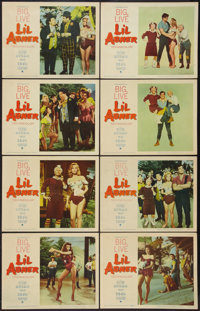 "Li'l Abner (Paramount, 1959). Lobby Card Set of 8 (11"" X 14""). Musical. ... (Total: 8 Items)"