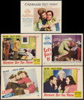 """Movie Posters:Comedy, Bob Hope Lot (Paramount, 1941-1954). Lobby Cards (5) (11"""" X 14"""").Comedy.. ... (Total: 5 Items)"""