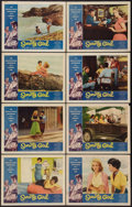 "Movie Posters:Bad Girl, Sorority Girl (American International, 1957). Lobby Card Set of 8(11"" X 14""). Bad Girl.. ... (Total: 8 Items)"