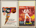 "Movie Posters:Thriller, Billion Dollar Brain & Other Lot (United Artists, 1967). Window Cards (2) (14"" X 22""). Thriller.. ... (Total: 2 Items)"