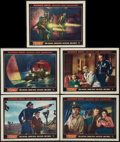 "Movie Posters:Science Fiction, Them! (Warner Brothers, 1954). Lobby Cards (5) (11"" X 14""). ScienceFiction.. ... (Total: 5 Items)"