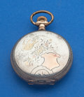 Timepieces:Pocket (post 1900), Waltham 6 Size Multi-Color Gold & Silver Hunter's Case ForRestoration. ...