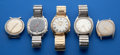 Timepieces:Wristwatch, Five Accutron's Wristwatches For Restoration. ... (Total: 5 Items)