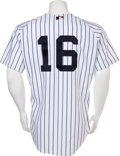 Baseball Collectibles:Uniforms, 2000 Whitey Ford Old Timers Day Game Worn New York Yankees Uniform....