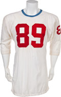 Football Collectibles:Uniforms, Circa 1961-62 Bill Groman Game Worn Houston Oilers Jersey....