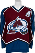 Hockey Collectibles:Uniforms, 2003-04 Peter Forsberg Promotional Game Worn Jersey. ...