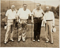Autographs:Photos, Circa 1940 Babe Ruth Signed Photograph....