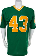 Football Collectibles:Uniforms, 1980 Bob Crable Game Worn Notre Dame Fighting Irish Jersey....