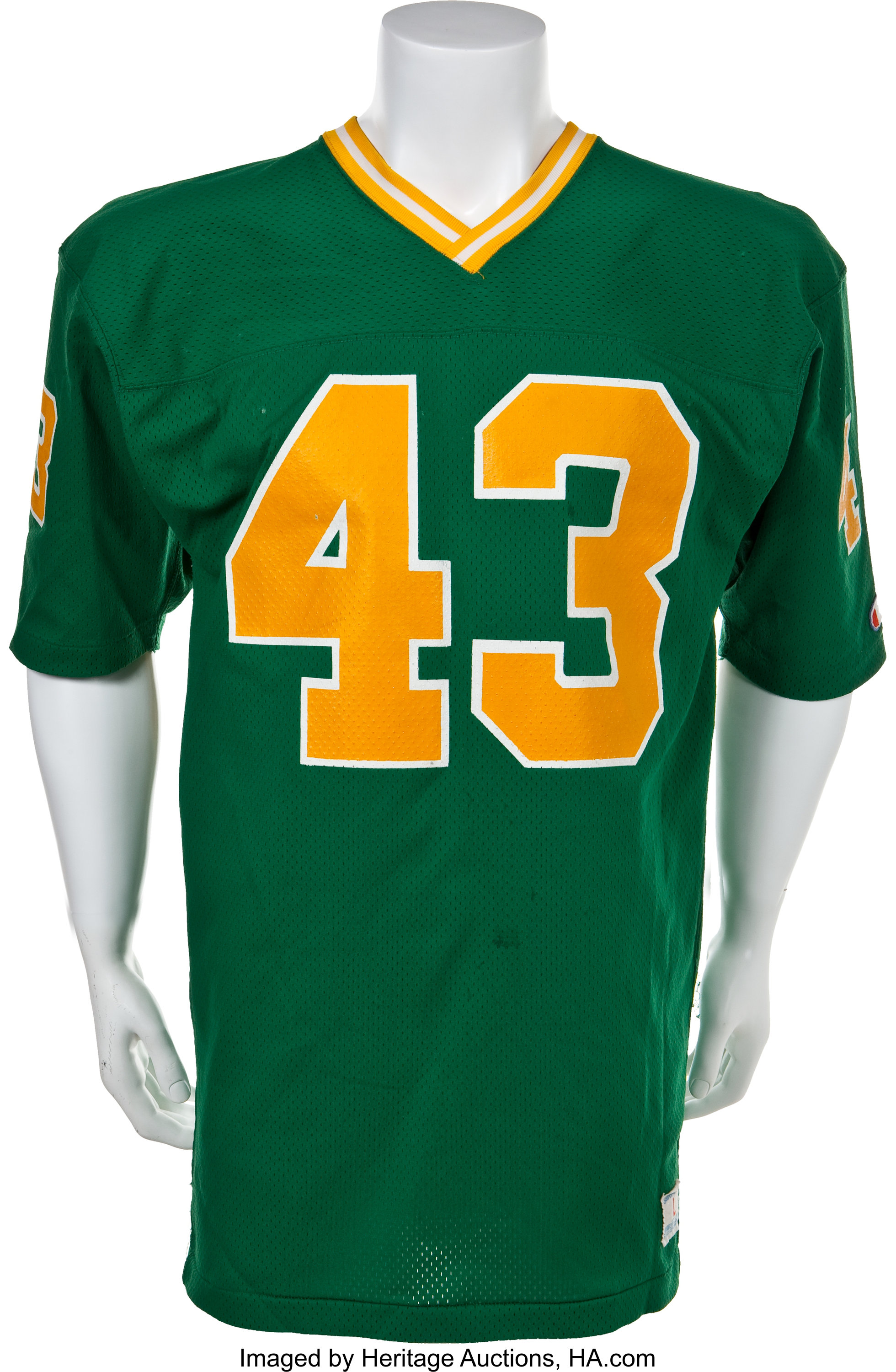best loved cb745 68f4f 1980 Bob Crable Game Worn Notre Dame Fighting Irish Jersey ...
