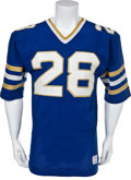 Football Collectibles:Uniforms, 1980's Notre Dame Fighting Irish Game Worn Jersey - With Built In Hand Warmers!...