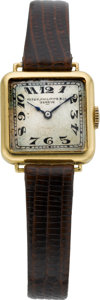 Timepieces:Wristwatch, Patek Philippe & Co. Lady's Vintage Wristwatch, circa 1920. ...