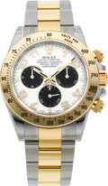 Timepieces:Wristwatch, Rolex Ref. 116523 As New Two Tone Oyster Perpetual Cosmograph Daytona, circa 2011. ...